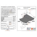 Стальная защита картера Alfeco AUDI A7 30.30V
