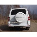 Защита задняя (уголки двойные) 76,1/42,4 мм УАЗ PATRIOT UAZPATR2015-11 (ТСС)
