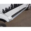Защита порогов 60,3 мм УАЗ PATRIOT UAZPATR2015-08 (ТСС)