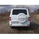 Защита задняя (овальная) 120х60 мм УАЗ PATRIOT UAZPATR2015-09 (ТСС)
