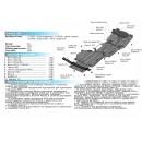 Стальная защита картера АвтоБроня HAVAL H9 111.09408.1