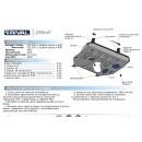 Алюминиевая защита картера АвтоБроня LEXUS NX 333.3207.1