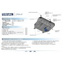Алюминиевая защита картера АвтоБроня LEXUS NX 333.3211.1