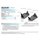 Алюминиевая защита картера АвтоБроня MAZDA CX5 333.3819.1