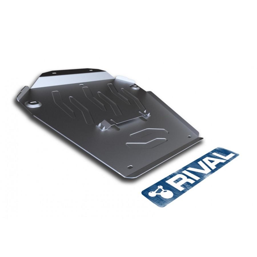 Алюминиевая защита картера АвтоБроня VOLKSWAGEN TOUAREG 333.4604.1