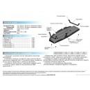 Алюминиевая защита картера АвтоБроня TOYOTA RAV4 333.5779.1