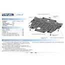 Алюминиевая защита картера АвтоБроня VOLVO XC60 333.5907.1