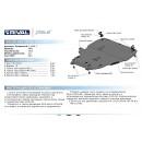 Алюминиевая защита картера АвтоБроня VOLVO V40 CROSS COUNTRY 333.5908.1