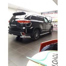 Защита Toyota Highlander Технотэк. Алексей, Сургут